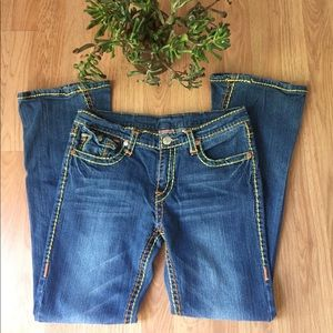 True Religion Joey Colored Stitching Jeans
